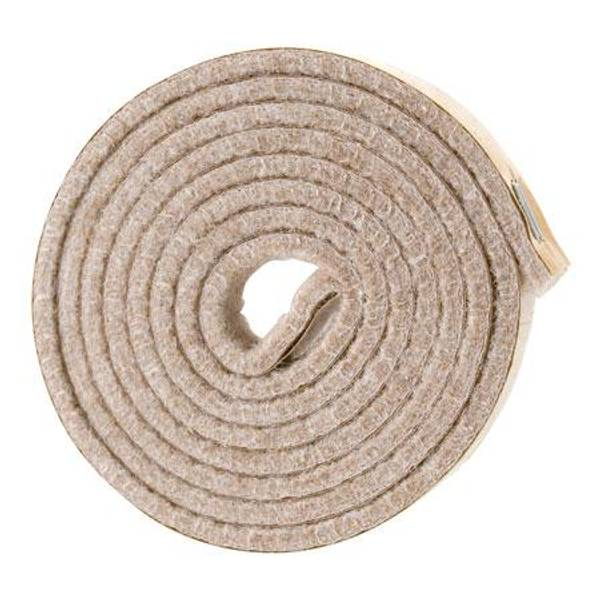 Self - Stick Oatmeal Felt Strips