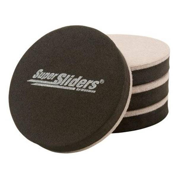 Merveilleux Round Felt Furniture Sliders