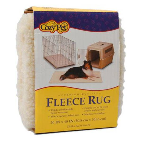 Fleece Rug for Plastic Kennel