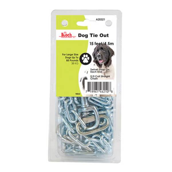 Chain Dog Tie Out