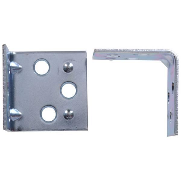 2-1/2 Zinc Double Corner Brace