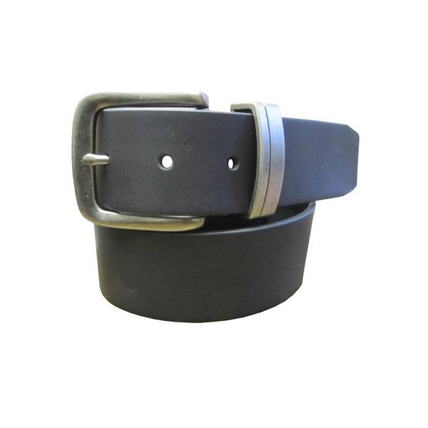Men's Full Grain Leather 2 Piece Buckle Belt