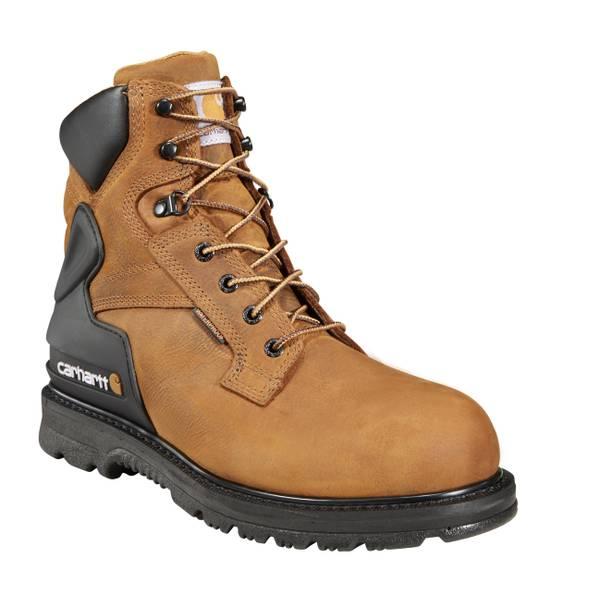 "Men's 6"" Bison Waterproof Safety Toe Work Boot"