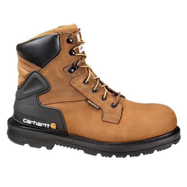 "Men's 6"" Bison Waterproof  Non Safety Toe Work Boot"
