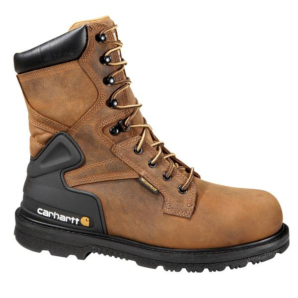 """Men's 8"""" Bison Waterproof Steel Toe Work Boot"""