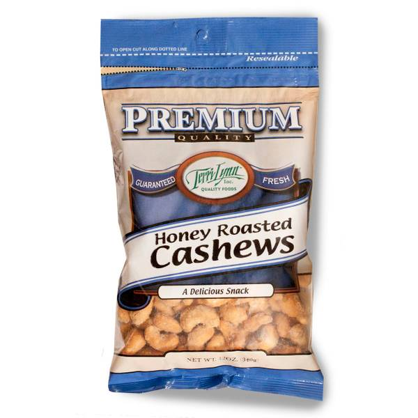 Gourmet Honey Roasted Jumbo Cashews