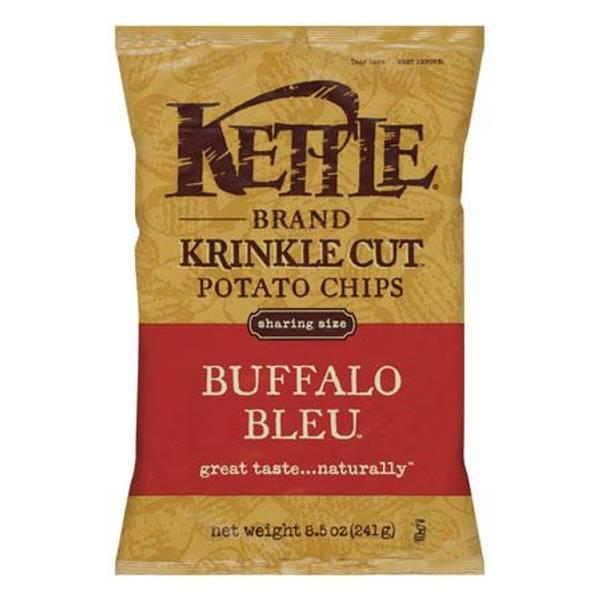 Buffalo Bleu Krinkle Cut Potato Chips
