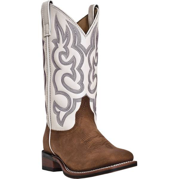 Women's  & White Western Boots
