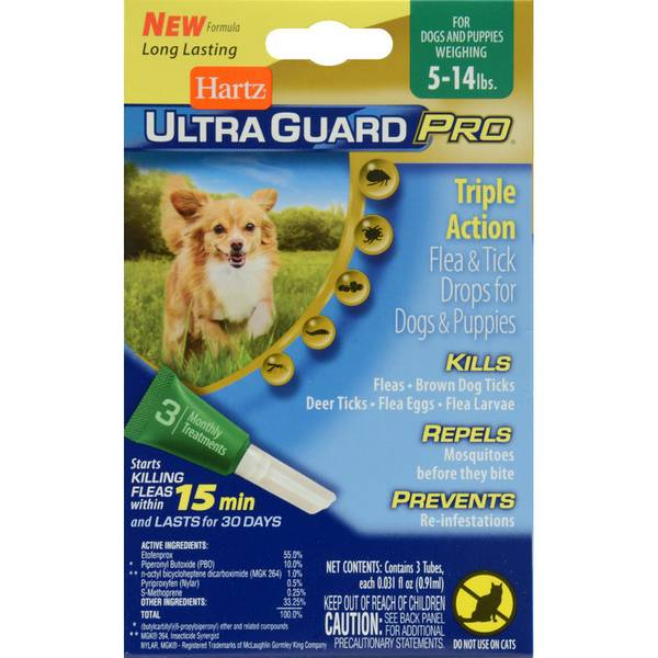 UltraGuard Pro Flea and Tick Drops for Dogs and Puppies