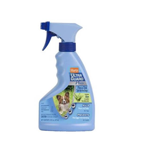 UltraGuard Plus Flea & Tick Spray for Dogs