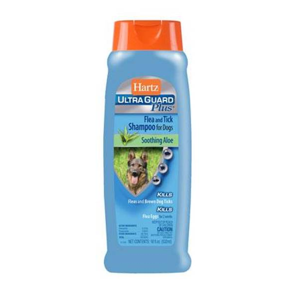 UltraGuard Plus Flea & Tick Dog Shampoo - With Aloe