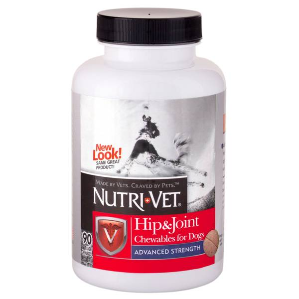 Hip & Joint Advanced Strength Chewables For Dogs