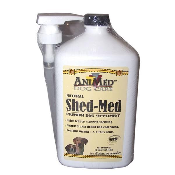 Natural Shed - Med Premium Dog Supplement