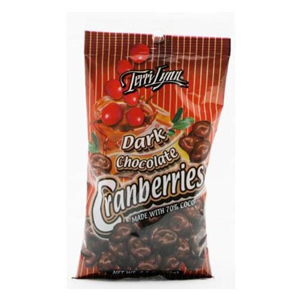 Photo of Dark Chocolate Cranberries