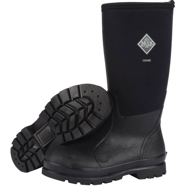 Men's Hi Chore Waterproof Insulated Rubber Work Boot