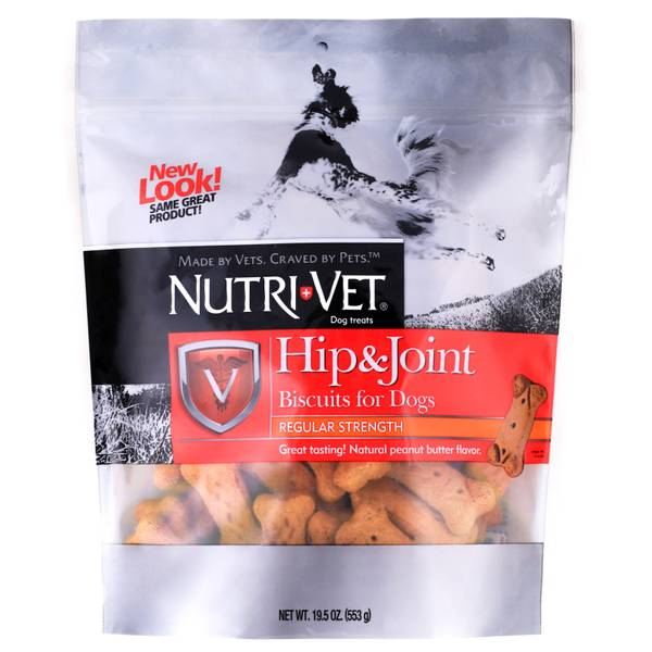 Hip & Joint Peanut Butter Flavored Dog Biscuits
