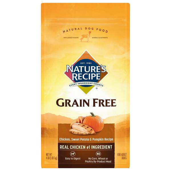 Grain Free Chicken Flavored Dry Dog Food