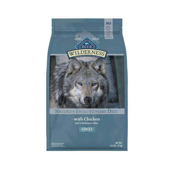 4.5 lb Grain Free Chicken Natural Evolutionary Diet Dog Food