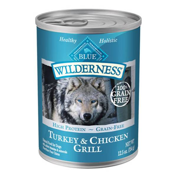 Grain Free Turkey & Chicken Grilled Dog Food