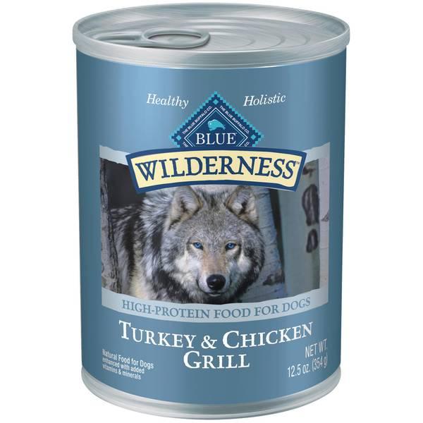 Grain Free Turkey & Chicken Grilled Dog Food
