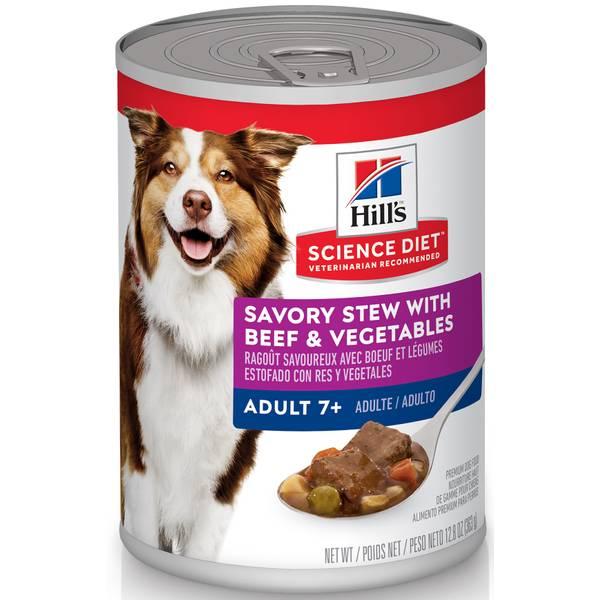 12.8 oz Savory Stew Beef Mature Adult Dog Food