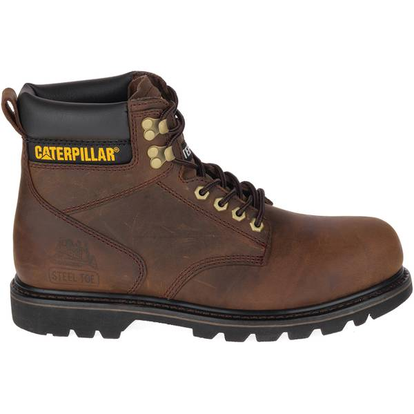Men's Dark  Second Shift Steel Toe Work Boots
