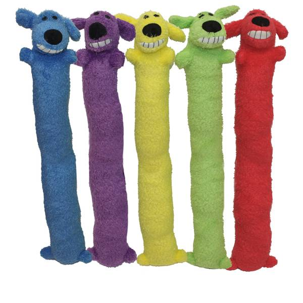Jumbo Loofa Dog Toys Assortment