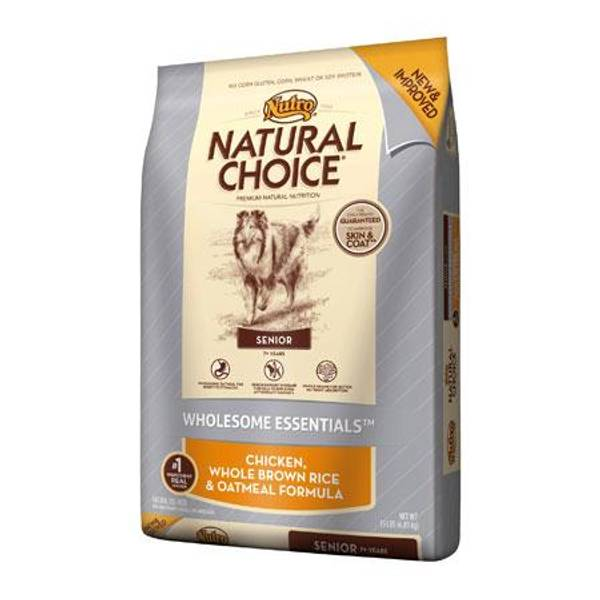 Nutro Natural Choice Senior Dog Food