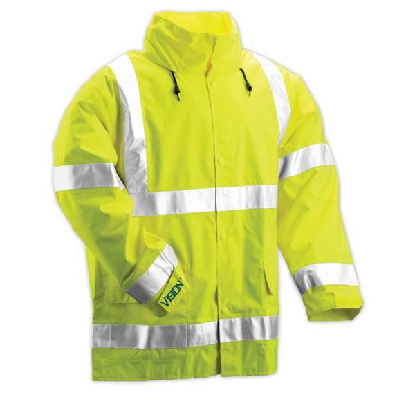 Men's Job Sight Vision Class 3 High Visibilty Jacket