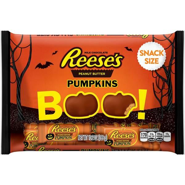 Snack Size Halloween Pumpkins
