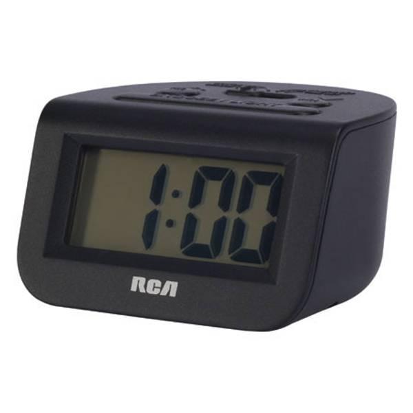 "RCD10 Alarm Clock with 1"" LCD Display"