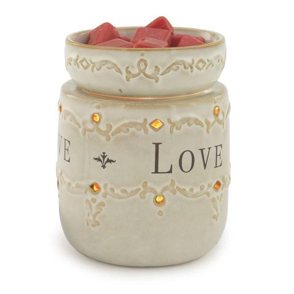 White Illumination Wax Fragrance Warmer