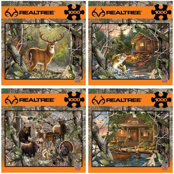 1000-Piece Realtree Puzzle Assortment