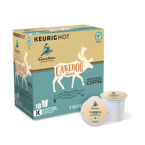 Caribou Coffee Signature Caribou Blend Coffee K - Cups