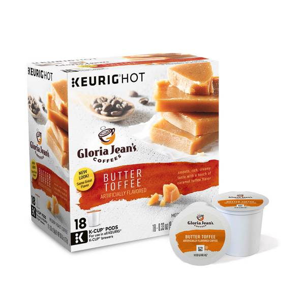 Butter Toffee Medium Roast Coffee K - Cups