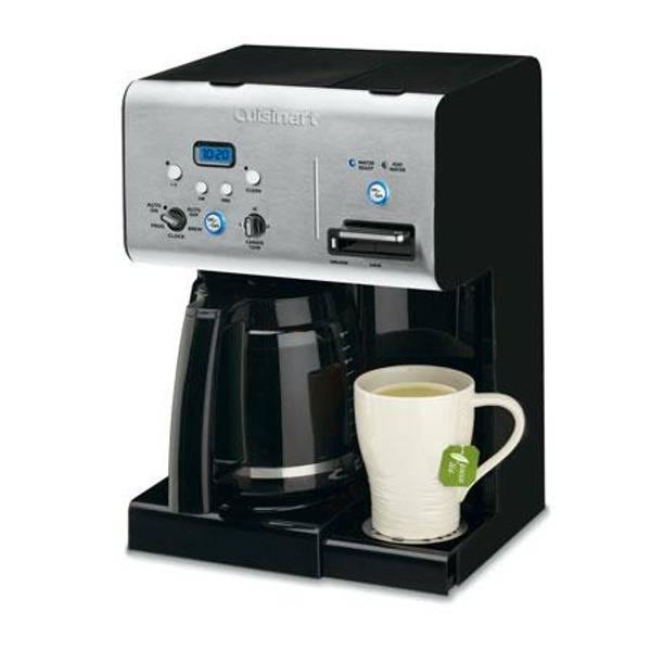 Cuisinart Programmable Coffee Maker With Hot Water System