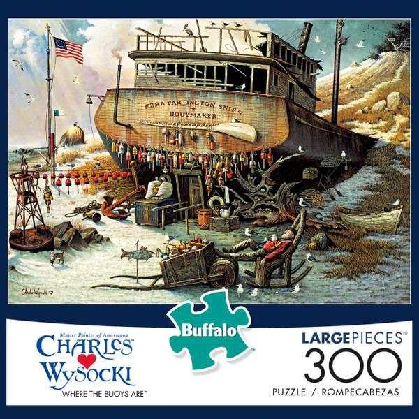 300-Piece Charles Wysocki Jigsaw Puzzle Assortment