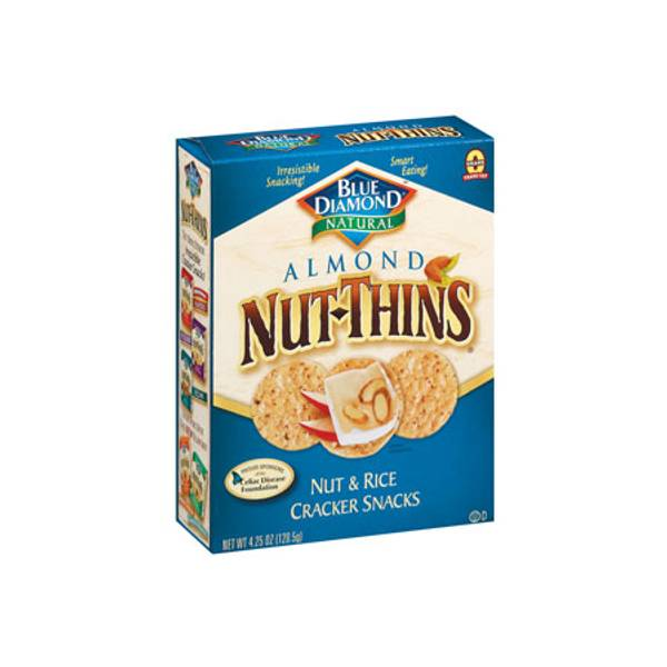 Natural Nut Thins Nut & Rice Cracker Snacks