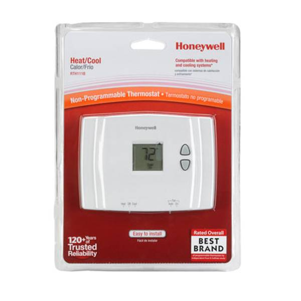 honeywell digital non programmable thermostat. Black Bedroom Furniture Sets. Home Design Ideas