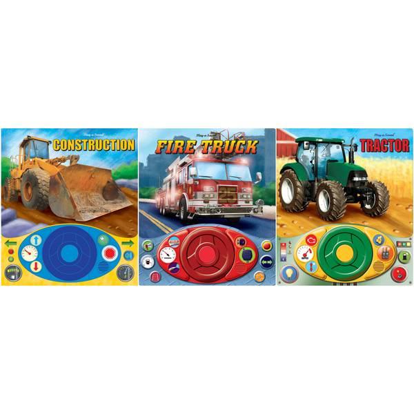 Little Driver Steering Wheel Book Assortment