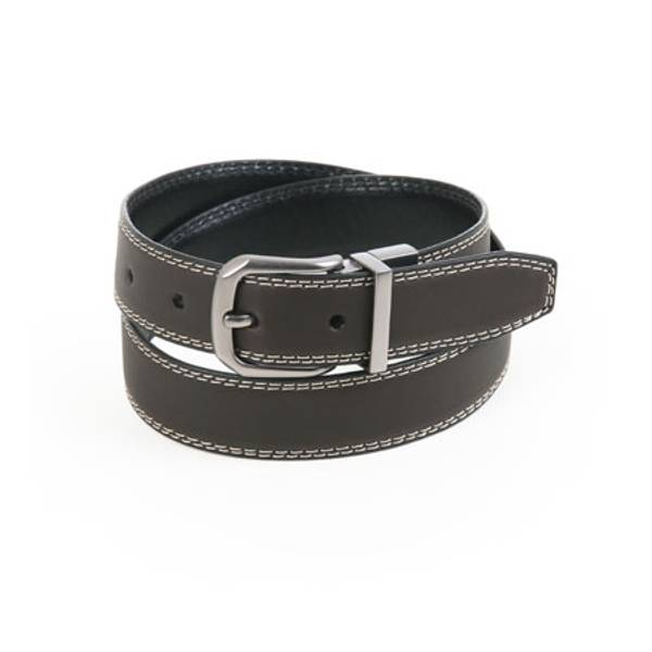 Boy's Contrast Stitch Reversible Belt
