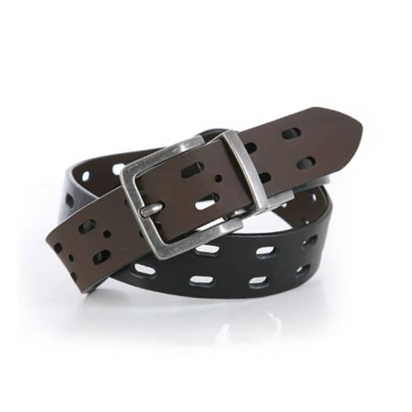 Boy's Double Perforated Reversible Belt