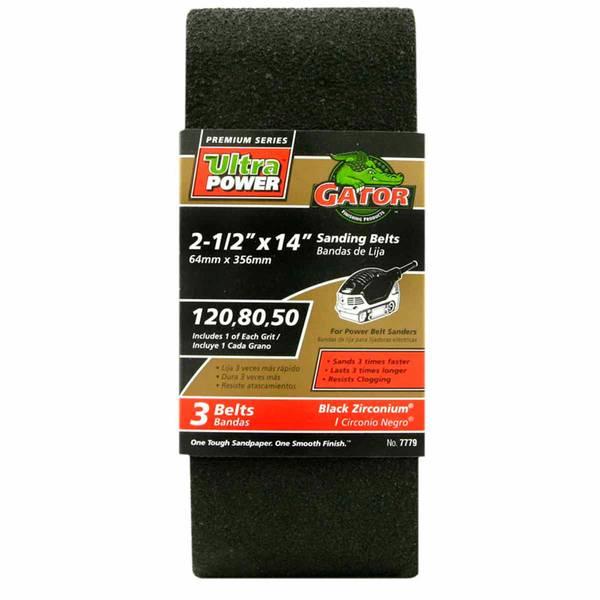 Sanding Belts 3 Pack