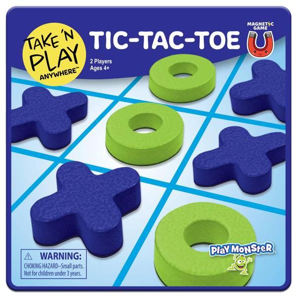 Tic-Tac-Toe Magnetic Game
