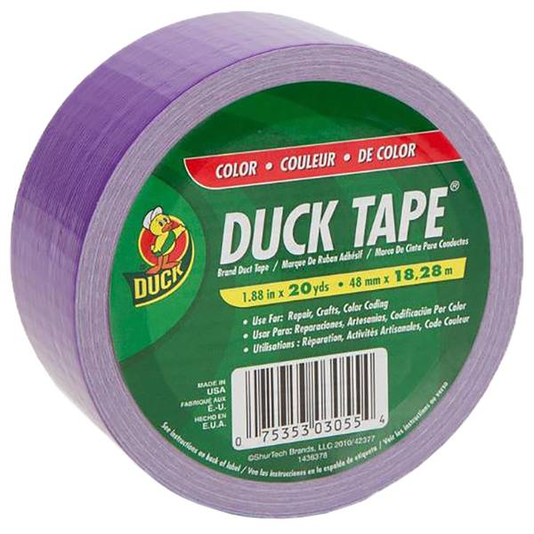 Duck Tape 1 88 Quot X 20 Yd Purple Duct Tape