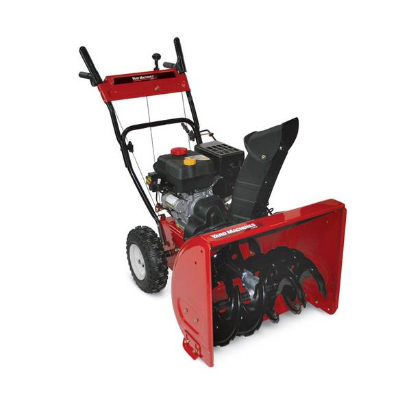 yard machine 208cc snow blower