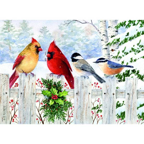 Fence Friends Holiday Cards