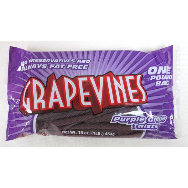 Purple Grape Twists