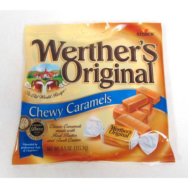 Chewy Caramel Candies
