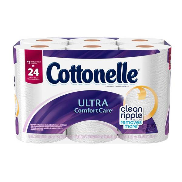 Ultra Comfort Care Bathroom Tissue